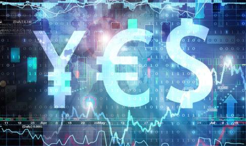 外国為替取引のイメージ図